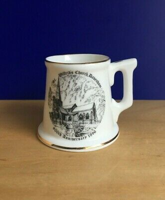 ST. WILFRID'S CHURCH DAVENHAM  900th ANNIVERSARY MINIATURE TANKARD BY  ETCHURCH  • 4£