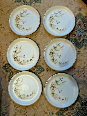 Six Exellent X Marks And Spencer M & S Harvest Dinner Plates 10.1/2  Dia  • 28£