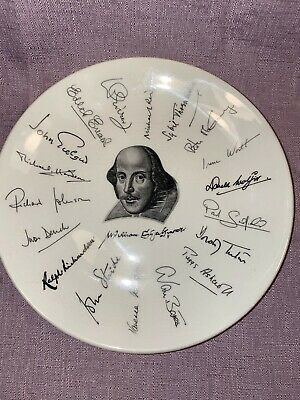 Vintage William Shakespeare 1564-1964 Plate Holkham Pottery Good Condition • 7.99£
