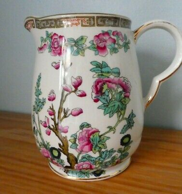 Maddock England -Indian Tree Design - Milk Jug In Very Good Condition - 5  Tall • 10£