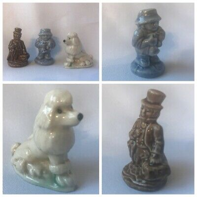 Wade Early French Poodle Little Boy Blue Dickens Figure Whimsies • 5£