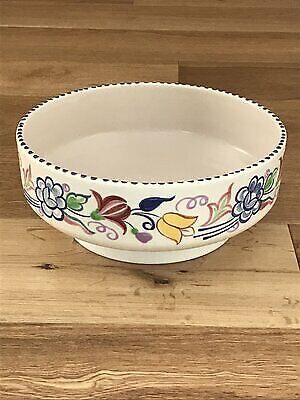 POOLE POTTERY Hand-painted Fruit Bowl • 50£
