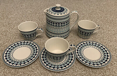***brand New Denby Monsoon Antalya Tea Set*** • 12.50£