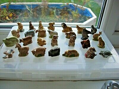 Wade Whimsies - Job Lot Of 28 Animals  • 11£