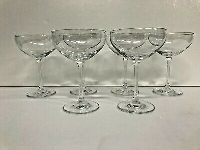 Set Of 6 Schott Zwiesel Champagne Cocktail Coupes 6  High • 47.68£