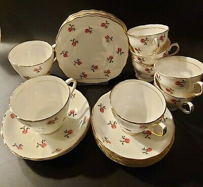 Vintage Colclough Fragrance Ditsy Pink Rose China - Various - Multi-buy Discount • 4£