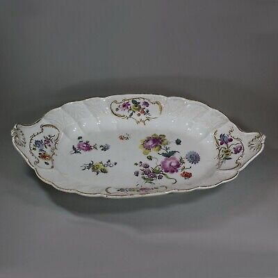 Large Meissen Lobed Dish, Late 18th Century • 780£