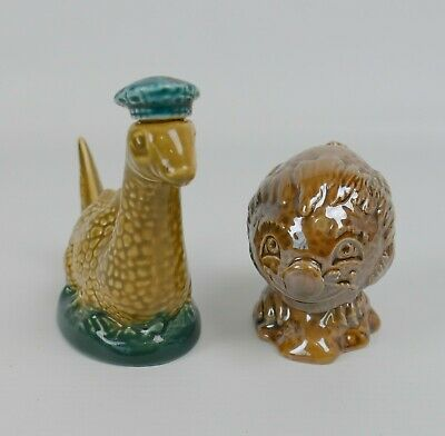 Two Beswick Beneagles Whisky Flasks Loch Ness Monster And Flying Haggis |23 • 25£