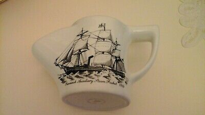Vintage  Lord Nelson Pottery Shaving Mug, 1819 Savannah Auxiliary Steam Packet  • 8£
