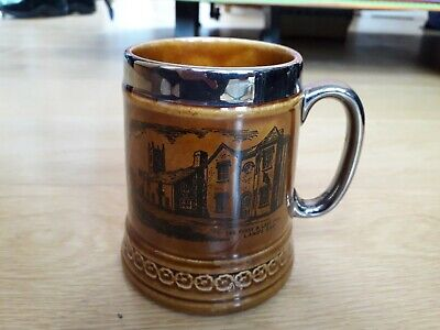 First And Last Inn Lands End Souvenir Tankard Lord Nelson Pottery • 3£