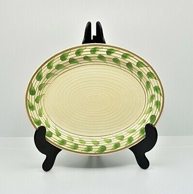 Rare Clarice Cliff Platter In  Christmas Leaves  Pattern, • 424.60£