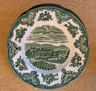 Johnson Brothers Picture Plate With Chatsworth 1792 Picture - 8  • 1.50£