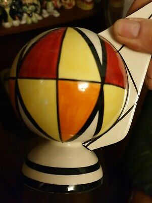 LORNA BAILEY Harlequin VASE Limited Edition 3/3 Excellent Condition FREE P&P • 60£