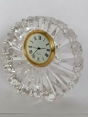 Crystal Mantle Clock - Excellent Condition • 5£