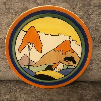 Clarice Cliff Bizarre Fantasque Mountain Large Charger  • 59.99£