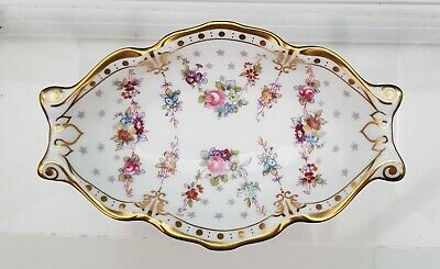 Royal Crown Derby 'royal Antoinette' 5 1/2  Silver Tray • 35£