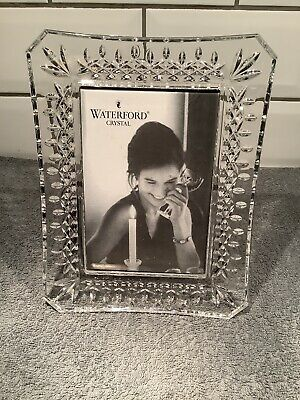 Waterford Crystal Photo Frame Unused Been Stored • 50£