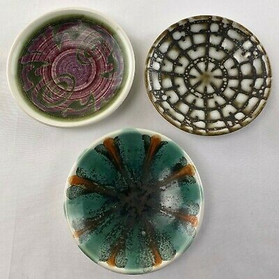 Iden Pottery Pin Dish X 3 - Small Dishes   Of Rye Pottery • 14.99£