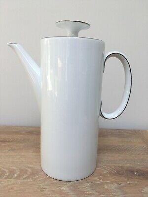Brand New Thomas Medallion Platinum Thin Silver Band Coffee Pot Large • 19.99£