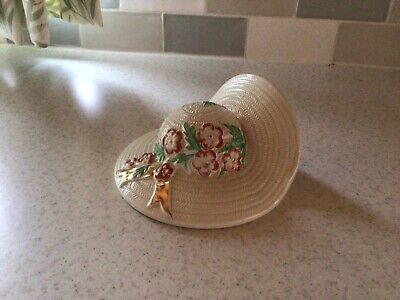 WARRANTED 22ct GOLD WALL HANGING POCKET HAT • 5£