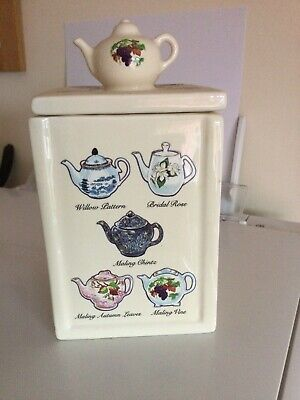 Ringtons Tea Caddy Heritage Collection Wade Ceramics Boxed • 5£