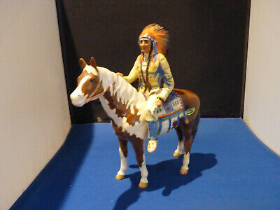 Beswick Mounted Indian On A Pinto Pony  - Amazing Condition (B5) • 98£
