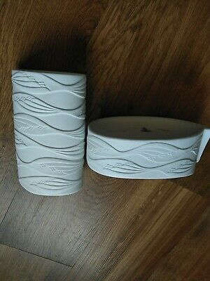 Vintage Kaiser White Bisque Porcelain Collection Perfect Condition By M. Frey... • 24£