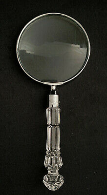 Rare! Waterford Crystal Magnifying Glass  - Mint Condition! • 66.09£