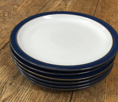 Denby Imperial Small Side Plates X 6 • 25£