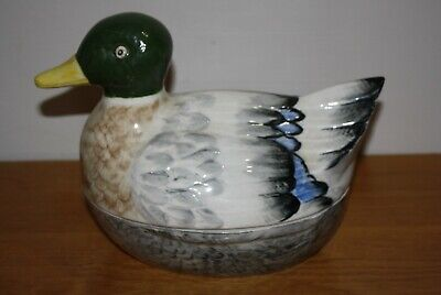 Potter Duck Tureen With Lid, Made In England • 75£