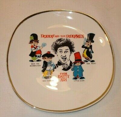 Vintage Doddy & The Diddy Men Small Trinket Plate In Great Condition • 9.99£