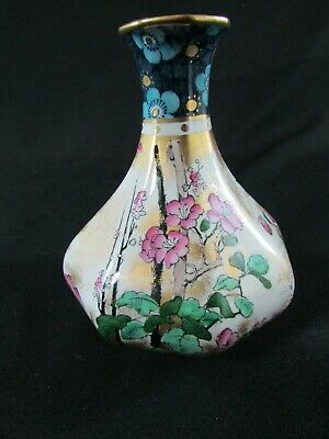 Losol Ware Hand Painted Vase C.1920-30s • 45£