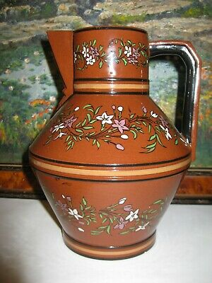 Watcombe Porcelain Terracotta Jug C1875 Attributed To Dr Christopher Dresser • 65£