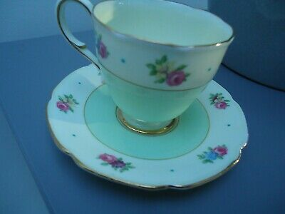 Vintage Hm Queen Hm Queen Mary Paragon China Cup And Saucer • 9£