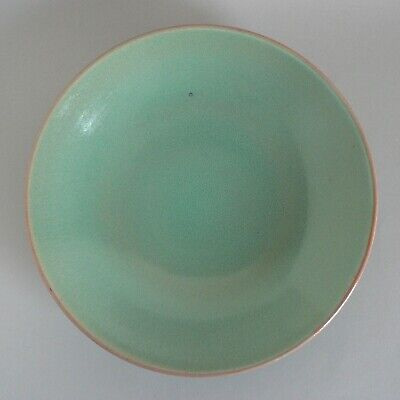 Poole Pottery Chinese Green 13  Footed Dish Vintage Centrepiece Bowl #920 1.65kg • 60£