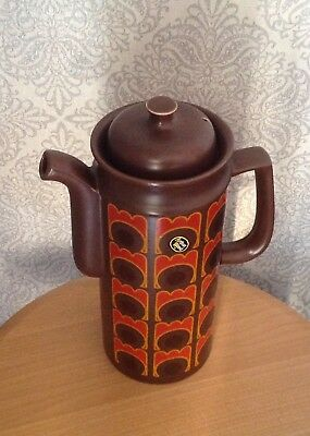 Vintage Retro Arthur Wood Pottery Co Coffee Pot And Lid  • 14.99£