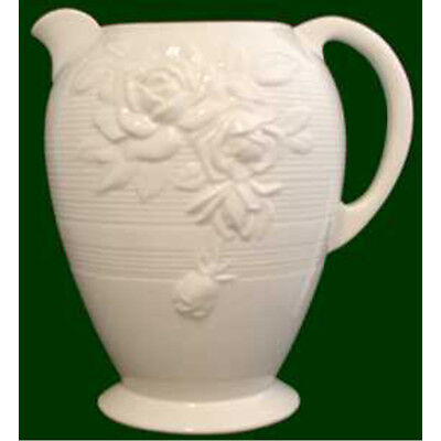 Royal Creamware Large Victorian Rose Jug • 12.99£