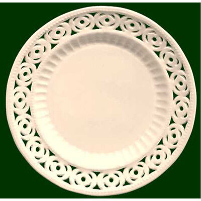 Royal Creamware Medallion Plates 7 Inch (Pack Of Four) • 23.99£