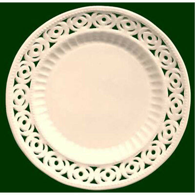 Royal Creamware Medallion Plates 9 Inch (Pack Of Four) • 49.99£