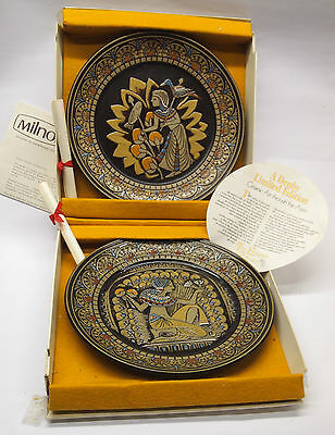 DENBY EGYPTIAN PLATES, Boxed Pair.  Special Price • 55£