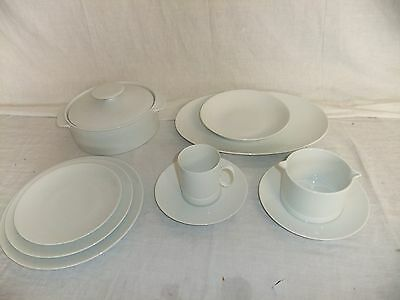 C4 Porcelain Thomas Germany Plain White 5E6B • 39.99£