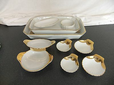 C4 Pottery Royal Worcester White & Gold 8A1A • 24.99£