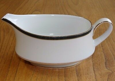 Boots HANOVER GREEN Gravy Or Sauce Boat 4/766 (Noritake) • 6.95£