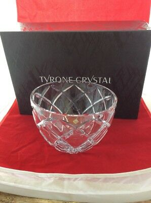 Tyrone Crystal Cut Glass Bowl RRP £140 • 69.99£