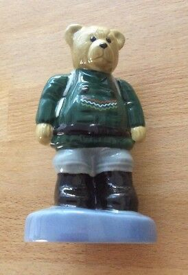WADE Collector Club Camping Bear Figurine 1998 Collectors Club Special • 5.50£