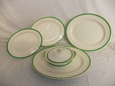 C4 Solian Ware Soho/Simpsons Pottery Cobridge - Queen's Green - Platters 9B3E • 15.99£