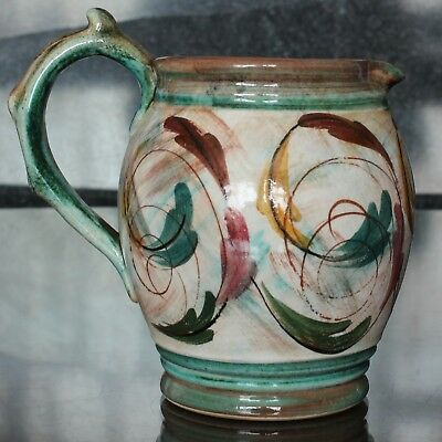 Glyn Colledge Design Denby Pottery Jug, Hand-Painted 5.25  1960's • 24.99£