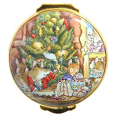 Crummles Brambly Hedge Midwinters Eve Round Box - Boxed • 170£