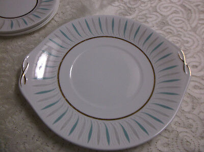 Queen Anne  Caprice  Cake / Bread & Butter Plate - Made In England • 4.50£