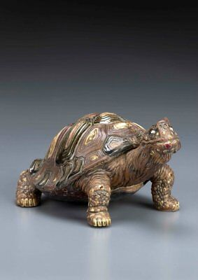Burslem Pottery Grotesque Victor The Tortoise Inspired By Martin Brothers • 275£